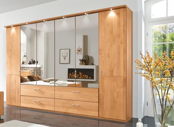 wiemann lido kleiderschrank eiche o erle teilmassiv mit. Black Bedroom Furniture Sets. Home Design Ideas