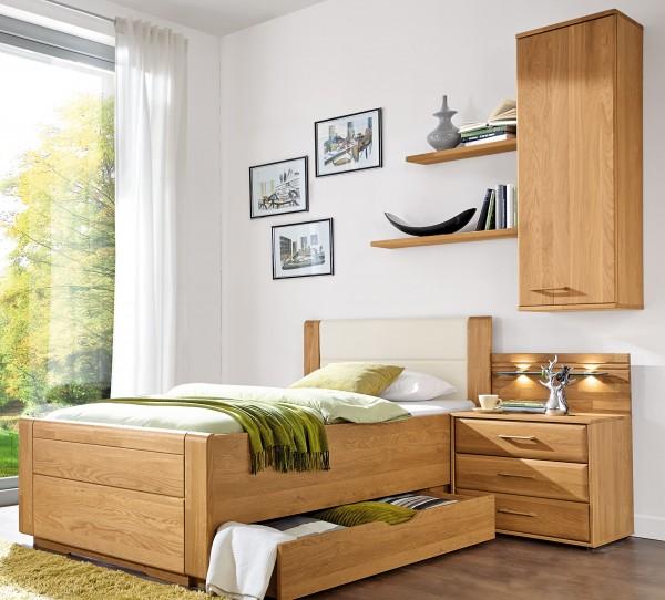 Wiemann Lido Bett erle o. eiche in vielen Größen | Möbelmeile24