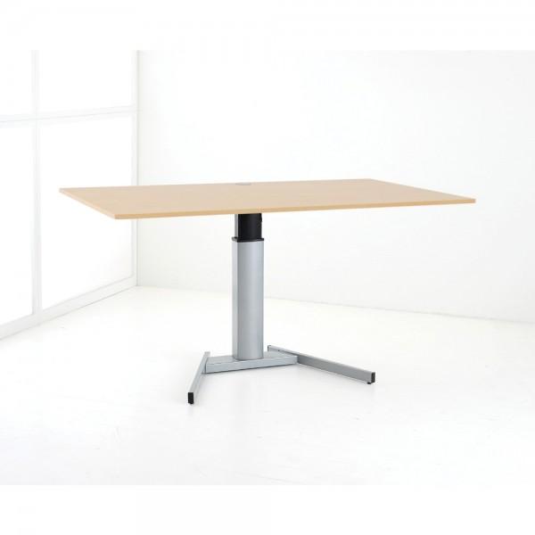 ConSet Schreibtisch STEH/sitz 1-säulig Basic 100kg