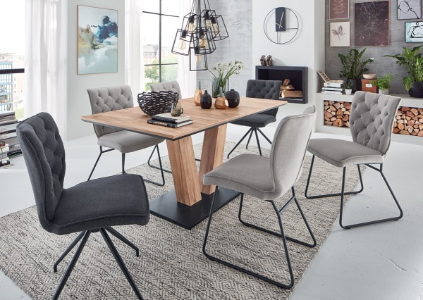 niehoff Tischgruppe Milton mit Stuhl Malta