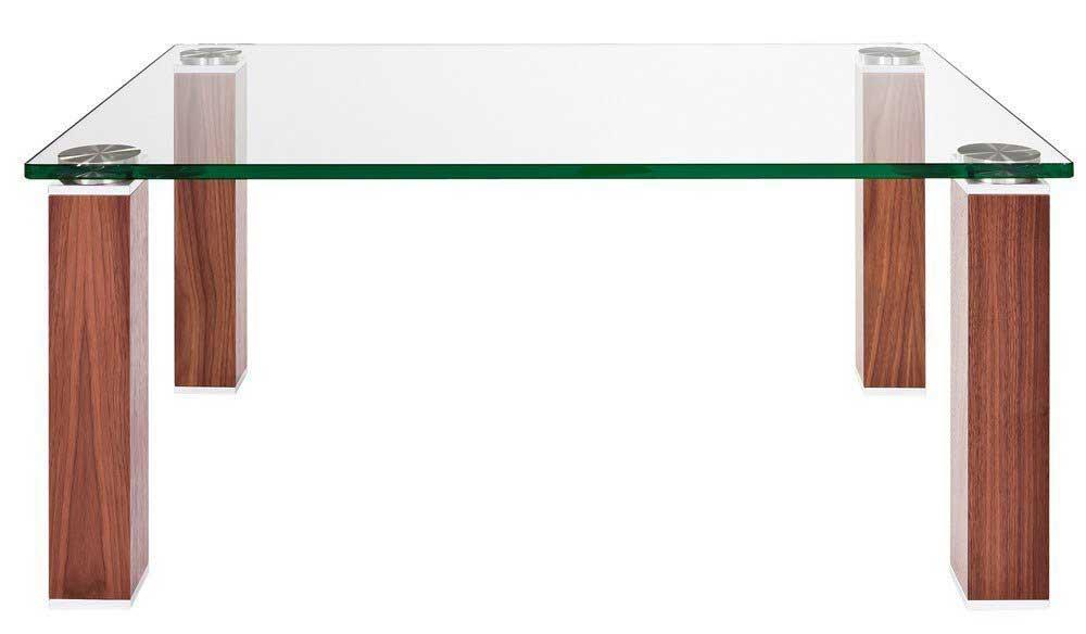 Eve Rimini Couchtisch Glas 90x90 cm
