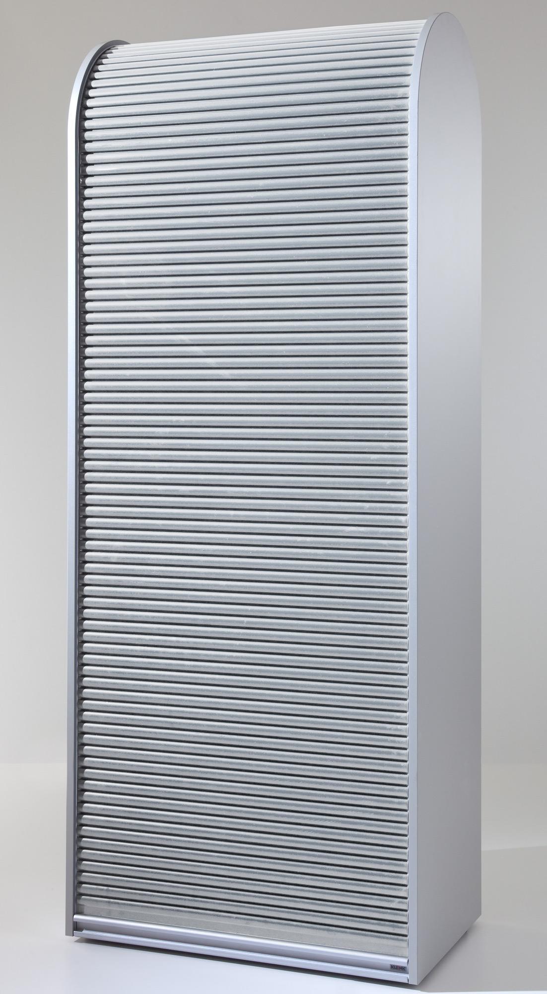 Klenk Aktenschrank Rollladenschrank Abschliessbar Schwarz Silber Weiss Mobelmeile24