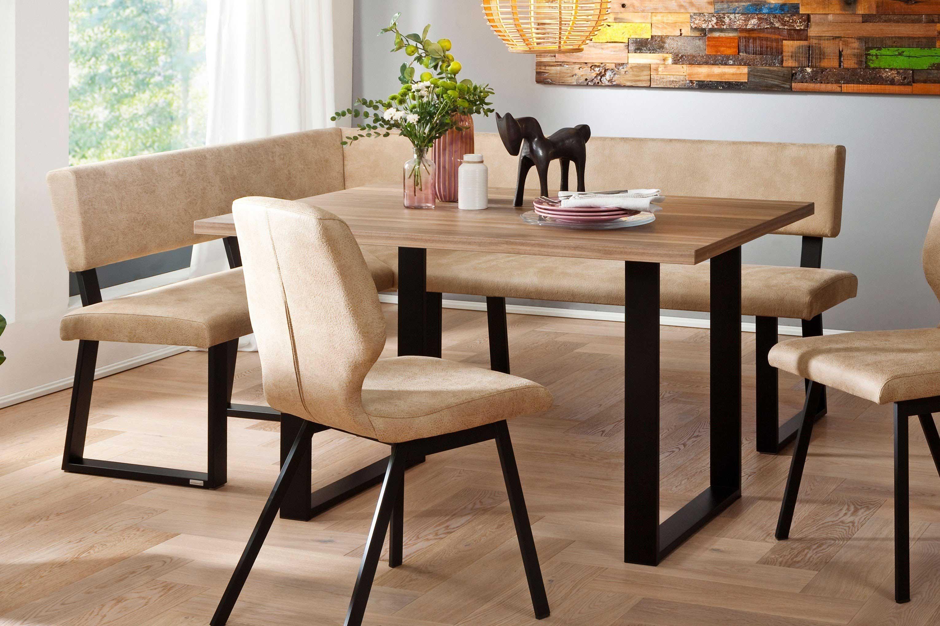 Schösswender Kos Tischgruppe mit Eckbank u. Stühlen beige