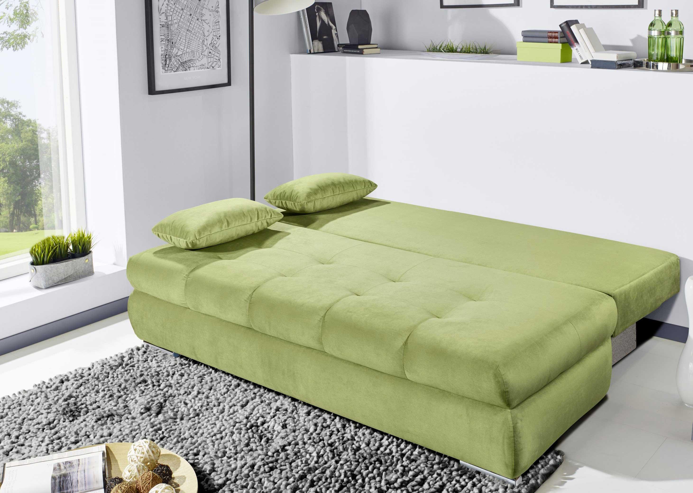 Sofateam Schlafsofa 136 grün