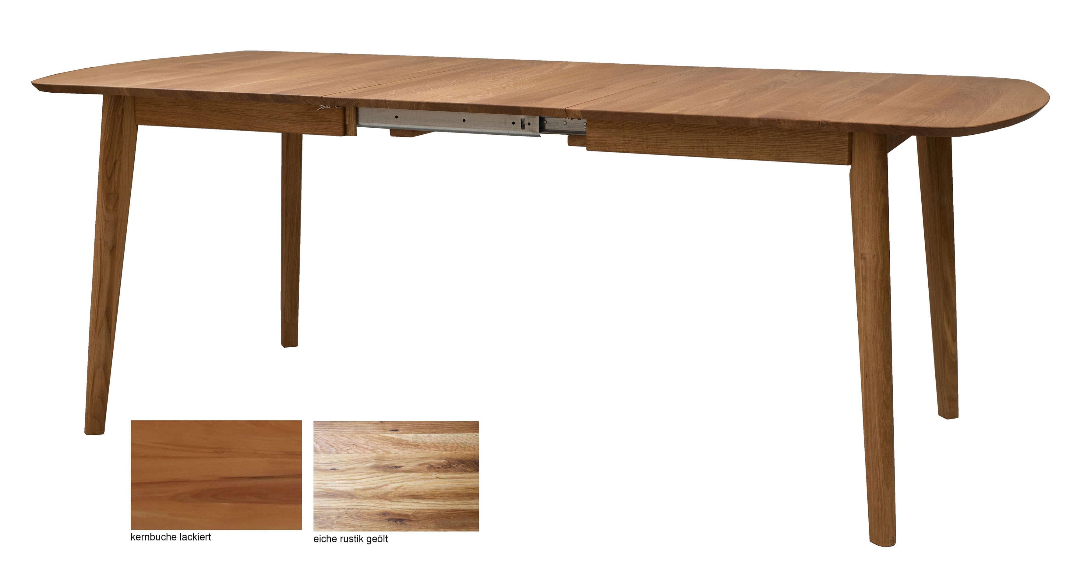 Standard Furniture Arles Massivholztisch ausziehbar eiche rustikal