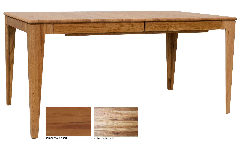 Standard Furniture Avignon Massivholztisch ausziehbar eiche rustikal