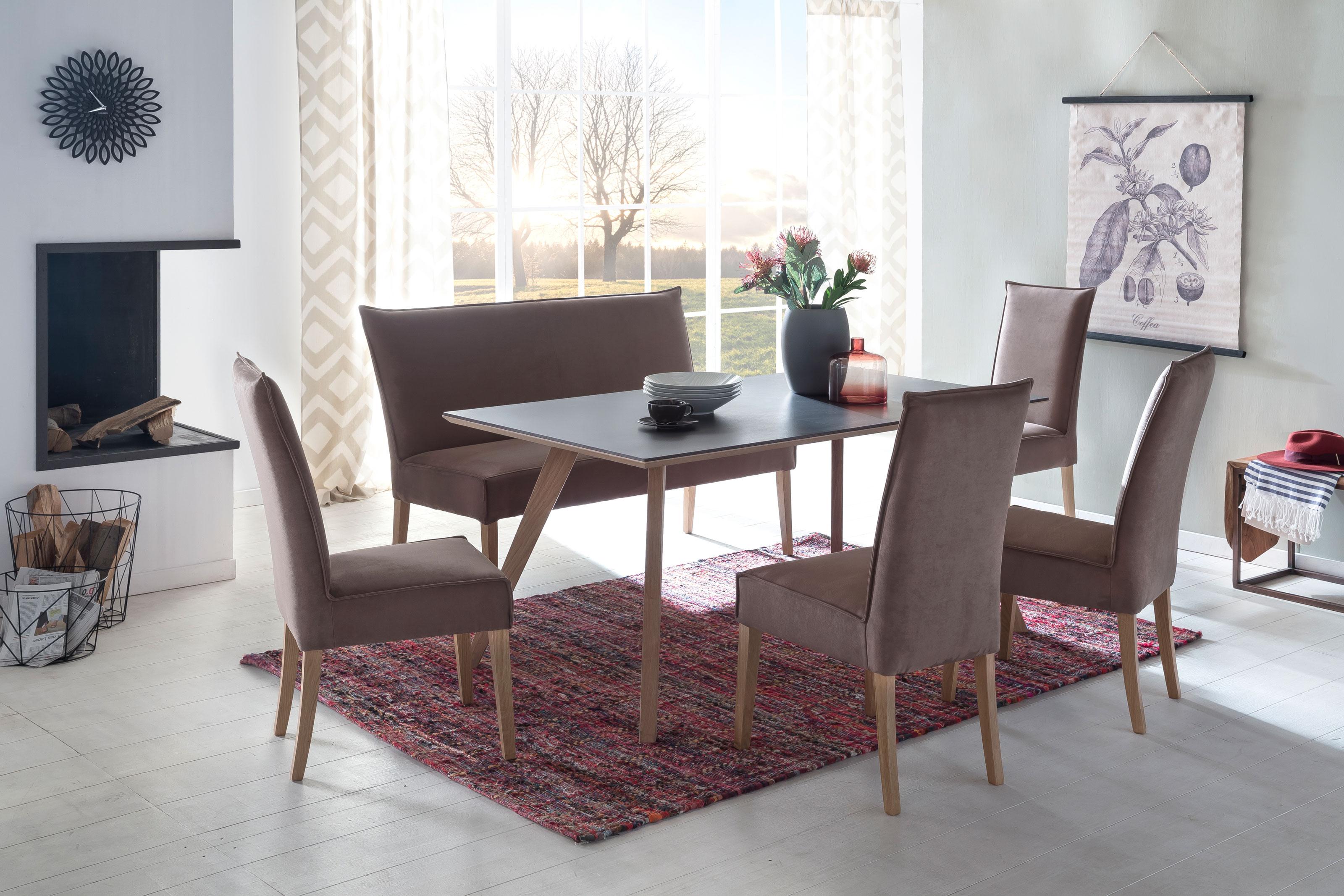 Standard Furniture Tischgruppe mit Bank Kira und Tisch Tronheim