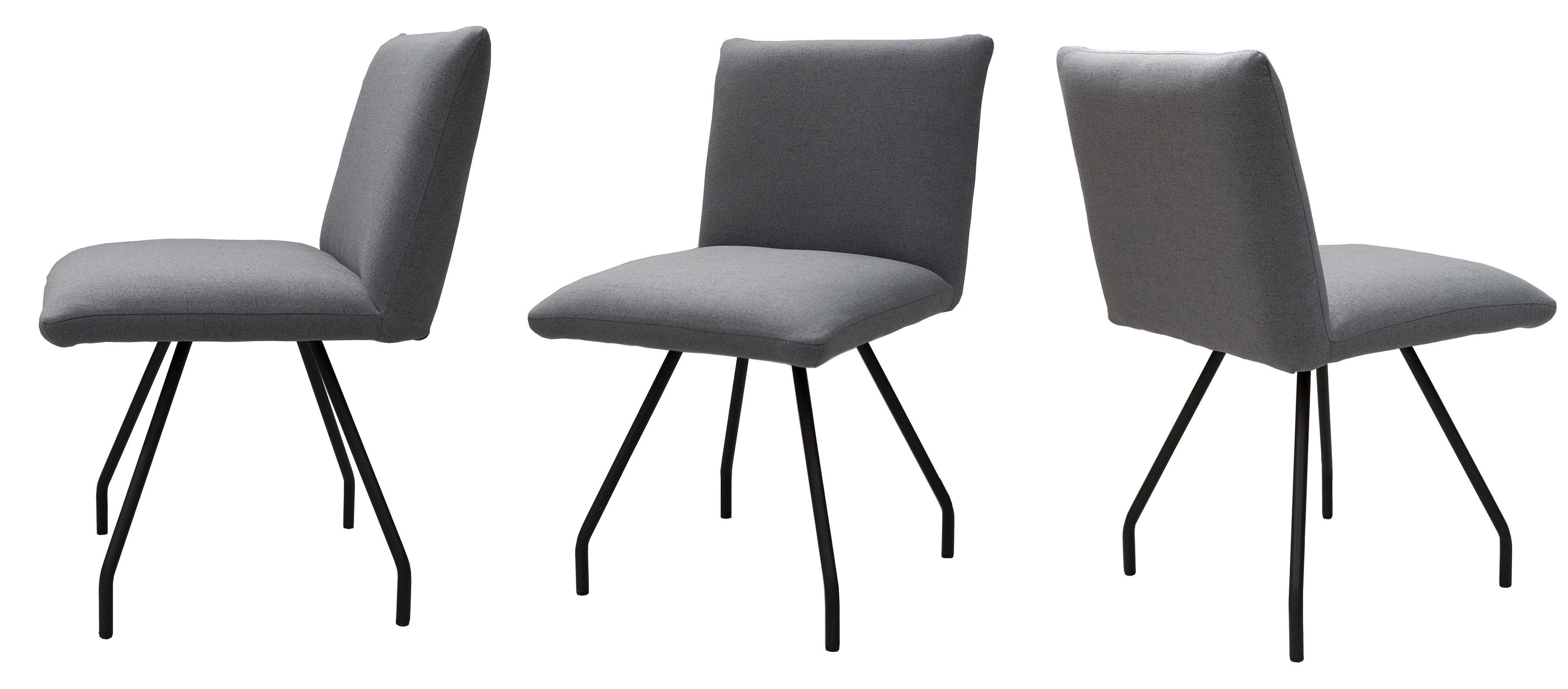 Standard Furniture Posada Polsterstühle mit Metallbeinen