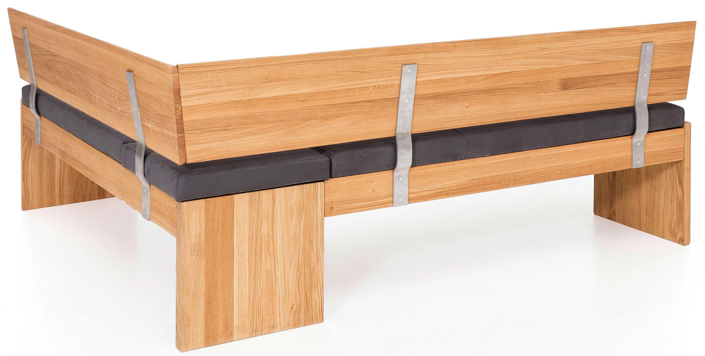 Standard Furniture Stockholm Eckbank klappbar massiv eiche mit Polster