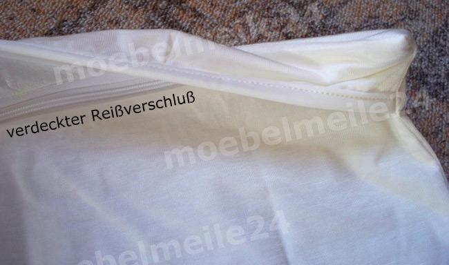 Das Bild zeigt einen Kopfkissenbezug für Allergiker.