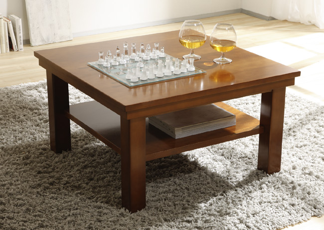 Regalsystem Wehrsdorder Kent Couchtisch cognac