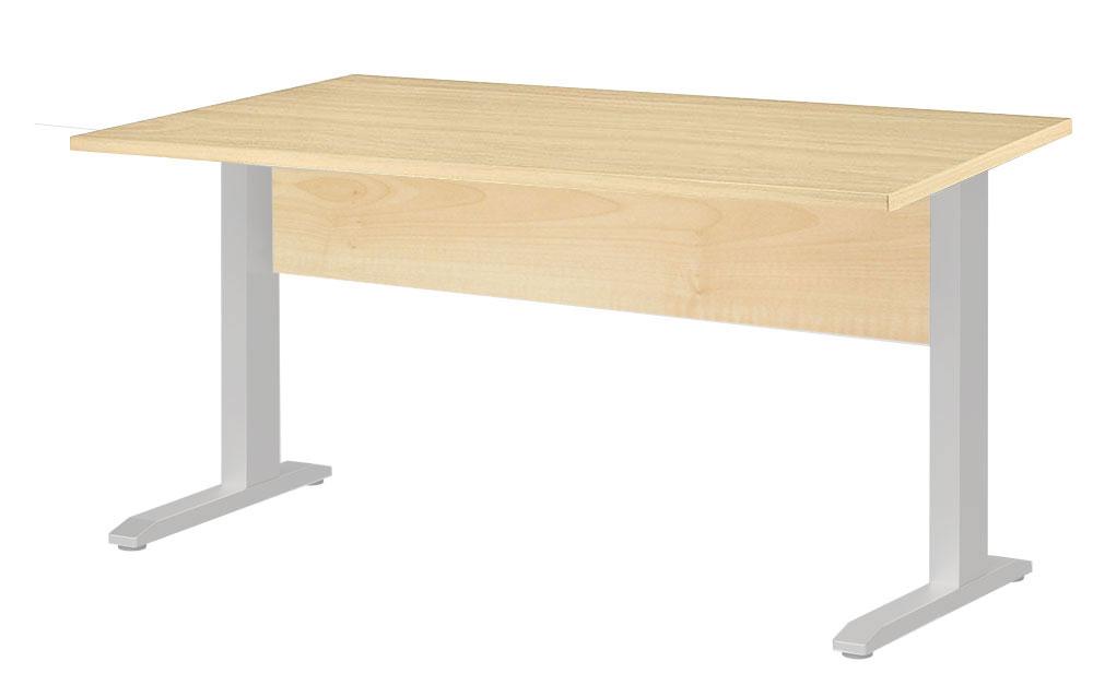 Welle Planeo Schüler Schreibtisch ahorn 120x60 cm