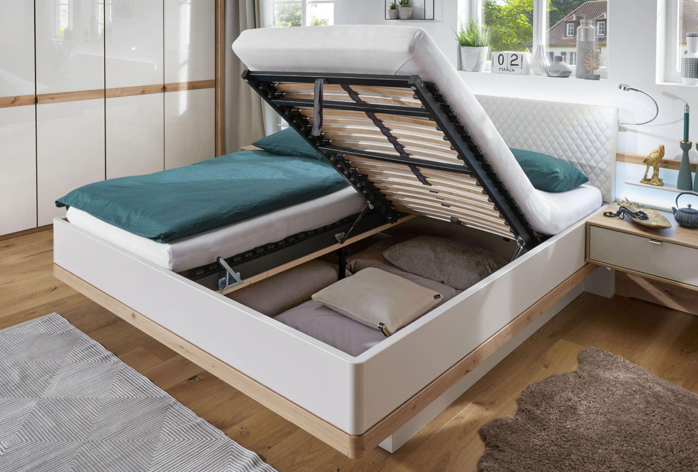Wiemann Barcelona Doppelbett 180x200 cm mit Bettkasten