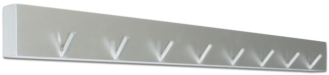 Hakenleiste Edelstahl 60 cm